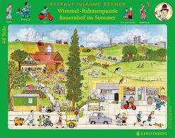 Wimmel-Rahmenpuzzle Sommer Motiv Bauernhof von Berner,  Rotraut Susanne