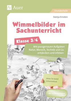Wimmelbilder im Sachunterricht – Klasse 3/4 von Ernsten,  Svenja