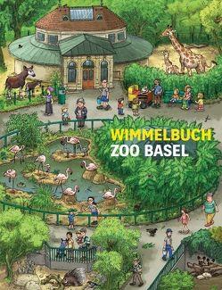 Wimmelbuch Zoo Basel von Brüchler,  Mirco