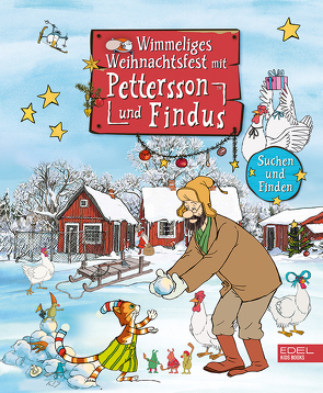 Wimmeliges Weihnachtsfest mit Pettersson und Findus von Korda,  Steffi, Nordqvist,  Sven