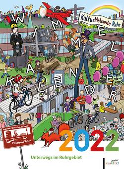 Wimmelkalender 2022 von Kemner,  Melanie, Krauß,  Jesse