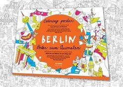 Wimmelstadtplan Berlin von Abaffy,  Tero