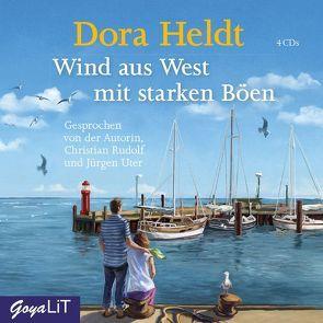 Wind aus West mit starken Böen von Heldt,  Dora, Rudolf,  Christian, Uter,  Jürgen