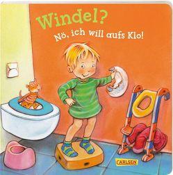 Windel? Nö, ich will aufs Klo! (Kleine Entwicklungsschritte ) von Altegoer,  Regine, Taube,  Anna