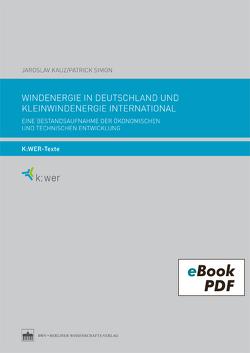 Windenergie in Deutschland und Kleinwindenergie international von Bauer,  Melanie, Brandt,  Edmund, Kauz,  Jaroslav, Simon,  Patrick