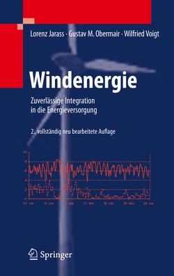 Windenergie von Jarass,  Lorenz, Obermair,  Gustav M, Voigt,  Wilfried