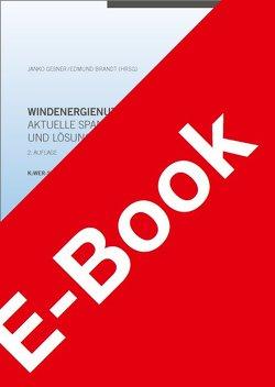 Windenergienutzung – aktuelle Spannungsfelder und Lösungsansätze von Brandt,  Edmund, Geßner,  Janko