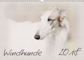 Windhunde 2018 (Wandkalender 2018 DIN A3 quer) von Redecker,  Andrea