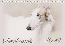 Windhunde 2019 (Tischkalender 2019 DIN A5 quer) von Redecker,  Andrea