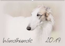 Windhunde 2019 (Wandkalender 2019 DIN A2 quer) von Redecker,  Andrea