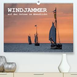 Windjammer auf der Ostsee im Abendlicht (Premium, hochwertiger DIN A2 Wandkalender 2020, Kunstdruck in Hochglanz) von Ködder,  Rico