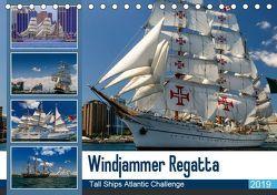 Windjammer-Regatta – Tall Ships Atlantic Challenge (Tischkalender 2019 DIN A5 quer) von Photo4emotion.com