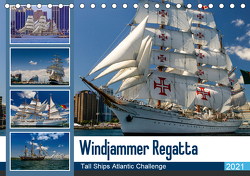 Windjammer-Regatta – Tall Ships Atlantic Challenge (Tischkalender 2021 DIN A5 quer) von Photo4emotion.com
