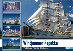 Windjammer-Regatta – Tall Ships Atlantic Challenge (Wandkalender 2021 DIN A3 quer) von Photo4emotion.com