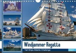 Windjammer-Regatta – Tall Ships Atlantic Challenge (Wandkalender 2021 DIN A4 quer) von Photo4emotion.com