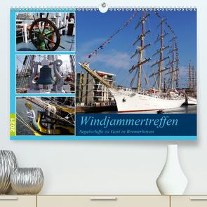 Windjammertreffen – Segelschiffe zu Gast in Bremerhaven (Premium, hochwertiger DIN A2 Wandkalender 2021, Kunstdruck in Hochglanz) von Gayde,  Frank