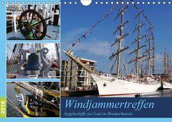 Windjammertreffen – Segelschiffe zu Gast in Bremerhaven (Wandkalender 2018 DIN A4 quer) von Gayde,  Frank