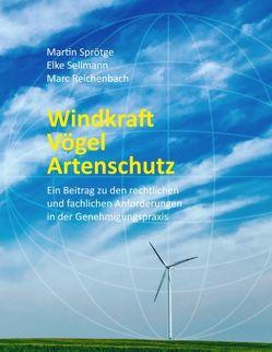 Windkraft Vögel Artenschutz von Sprötge,  Martin