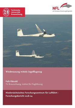 Windmessung mittels Segelflugzeug von Pätzold,  Falk