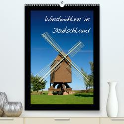 Windmühlen in Deutschland (Premium, hochwertiger DIN A2 Wandkalender 2021, Kunstdruck in Hochglanz) von Scholz,  Frauke