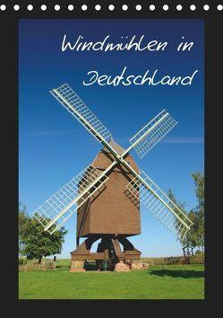 Windmühlen in Deutschland (Tischkalender 2019 DIN A5 hoch) von Scholz,  Frauke