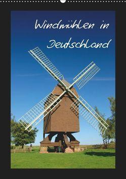 Windmühlen in Deutschland (Wandkalender 2019 DIN A2 hoch) von Scholz,  Frauke