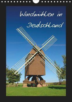 Windmühlen in Deutschland (Wandkalender 2019 DIN A4 hoch) von Scholz,  Frauke