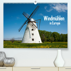 Windmühlen in Europa (Premium, hochwertiger DIN A2 Wandkalender 2021, Kunstdruck in Hochglanz) von Scholz,  Frauke
