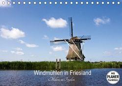 Windmühlen in Friesland – Molens in Fryslan (Tischkalender 2018 DIN A5 quer) von Hansen,  Karin