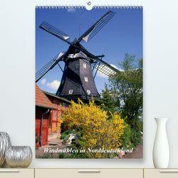 Windmühlen in Norddeutschland (Premium, hochwertiger DIN A2 Wandkalender 2020, Kunstdruck in Hochglanz) von Reupert,  Lothar