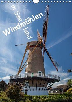 Windmühlen in Seeland (Wandkalender 2016 DIN A4 hoch) von Benoît,  Etienne