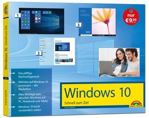 Windows 10 Schnell zum Ziel inklusive der aktuellsten Updates von 2020 von Kiefer,  Philip