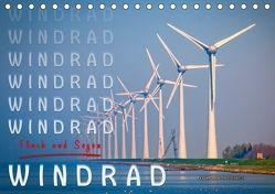 Windrad – Fluch und Segen (Tischkalender 2018 DIN A5 quer) von Roder,  Peter