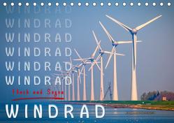Windrad – Fluch und Segen (Tischkalender 2020 DIN A5 quer) von Roder,  Peter