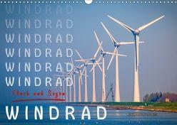 Windrad – Fluch und Segen (Wandkalender 2018 DIN A3 quer) von Roder,  Peter