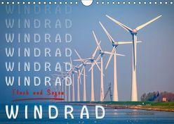 Windrad – Fluch und Segen (Wandkalender 2019 DIN A4 quer)