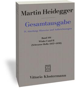 Winke I und II von Heidegger,  Martin, Trawny,  Peter