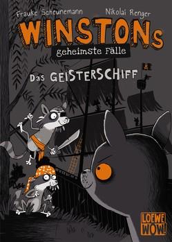 Winstons geheimste Fälle (Band 2) – Das Geisterschiff von Renger,  Nikolai, Scheunemann,  Frauke