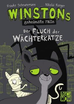 Winstons geheimste Fälle – Der Fluch der Wächterkatze von Renger,  Nikolai, Scheunemann,  Frauke