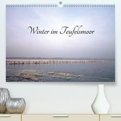 Winter im Teufelsmoor (Premium, hochwertiger DIN A2 Wandkalender 2021, Kunstdruck in Hochglanz) von Adam,  Ulrike