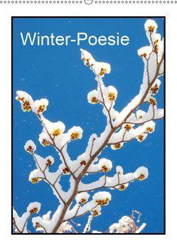 Winter-Poesie (Wandkalender 2019 DIN A2 hoch) von Kruse,  Gisela