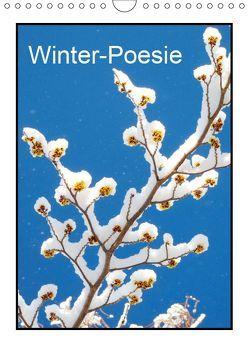 Winter-Poesie (Wandkalender 2019 DIN A4 hoch) von Kruse,  Gisela
