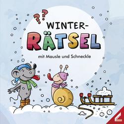 WINTER-Rätsel mit Mausle und Schneckle von Schwenk,  Lisa, Trantow,  Thorsten