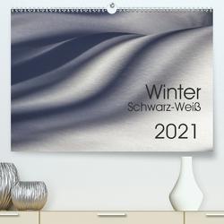 Winter Schwarz-Weiß (Premium, hochwertiger DIN A2 Wandkalender 2021, Kunstdruck in Hochglanz) von Eisele,  Horst