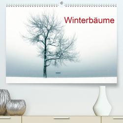 Winterbäume (Premium, hochwertiger DIN A2 Wandkalender 2021, Kunstdruck in Hochglanz) von Kruse,  Joana