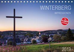 Winterberg Impressionen (Tischkalender 2019 DIN A5 quer) von Bücker,  Heidi