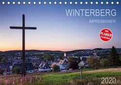Winterberg Impressionen (Tischkalender 2020 DIN A5 quer) von Bücker,  Heidi