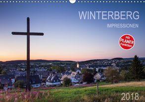 Winterberg Impressionen (Wandkalender 2018 DIN A3 quer) von Bücker,  Heidi