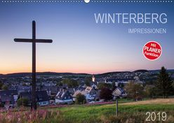 Winterberg Impressionen (Wandkalender 2019 DIN A2 quer) von Bücker,  Heidi