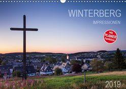 Winterberg Impressionen (Wandkalender 2019 DIN A3 quer) von Bücker,  Heidi